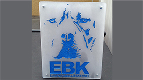 EBK Acrylic Sign…