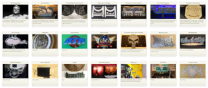 Project Page Thumbnails